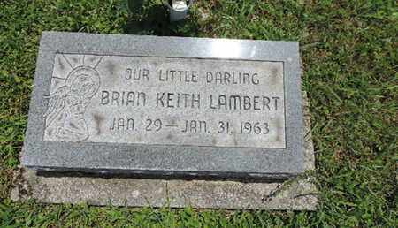 LAMBERT, BRIAN KEITH - Pike County, Ohio | BRIAN KEITH LAMBERT - Ohio Gravestone Photos