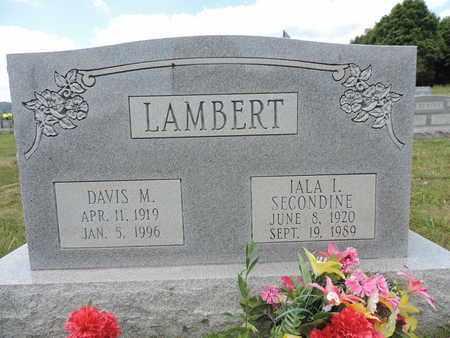 LAMBERT, DAVIS M. - Pike County, Ohio | DAVIS M. LAMBERT - Ohio Gravestone Photos