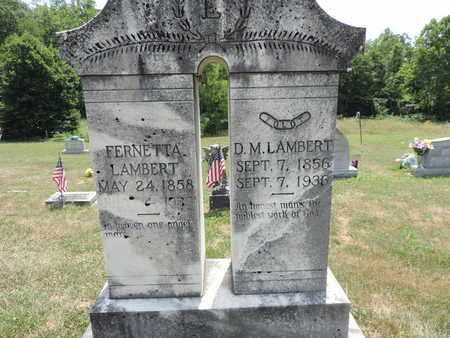 LAMBERT, FERNETTA - Pike County, Ohio | FERNETTA LAMBERT - Ohio Gravestone Photos