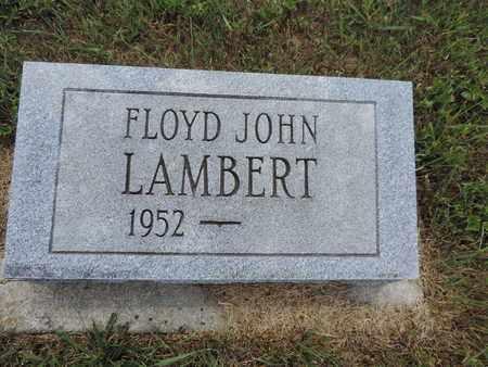 LAMBERT, FLOYD JOHN - Pike County, Ohio | FLOYD JOHN LAMBERT - Ohio Gravestone Photos