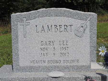 LAMBERT, GARY LEE - Pike County, Ohio | GARY LEE LAMBERT - Ohio Gravestone Photos