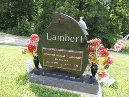LAMBERT, HOWARD RONALD - Pike County, Ohio | HOWARD RONALD LAMBERT - Ohio Gravestone Photos