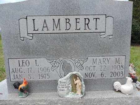 LAMBERT, MARY M. - Pike County, Ohio | MARY M. LAMBERT - Ohio Gravestone Photos