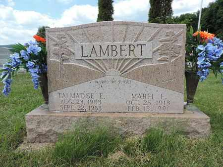 LAMBERT, MABEL E. - Pike County, Ohio | MABEL E. LAMBERT - Ohio Gravestone Photos