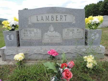 LAMBERT, THOMAS S. - Pike County, Ohio | THOMAS S. LAMBERT - Ohio Gravestone Photos