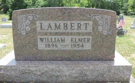 LAMBERT, WILLIAM ELMER - Pike County, Ohio | WILLIAM ELMER LAMBERT - Ohio Gravestone Photos