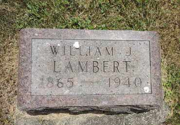 LAMBERT, WILLIAM J. - Pike County, Ohio | WILLIAM J. LAMBERT - Ohio Gravestone Photos