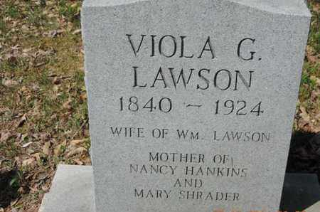 LAWSON, VIOLA G. - Pike County, Ohio | VIOLA G. LAWSON - Ohio Gravestone Photos