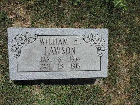 LAWSON, WILLIAM H. - Pike County, Ohio | WILLIAM H. LAWSON - Ohio Gravestone Photos