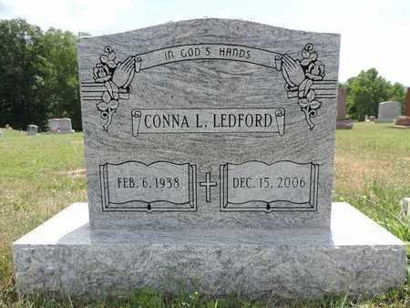 LEDFORD, CONNA L. - Pike County, Ohio | CONNA L. LEDFORD - Ohio Gravestone Photos