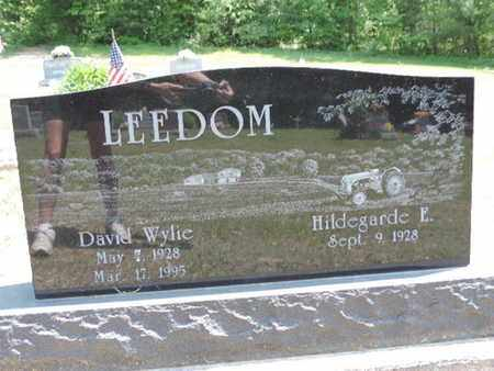 LEEDOM, HILDEGARDE E. - Pike County, Ohio | HILDEGARDE E. LEEDOM - Ohio Gravestone Photos
