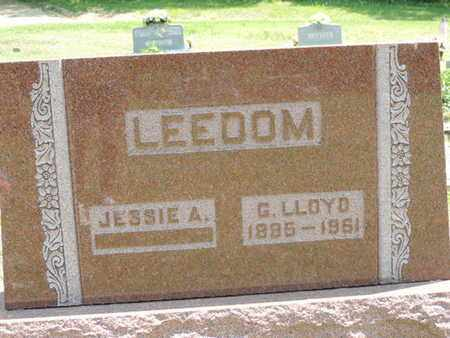 LEEDOM, G. LLOYD - Pike County, Ohio | G. LLOYD LEEDOM - Ohio Gravestone Photos