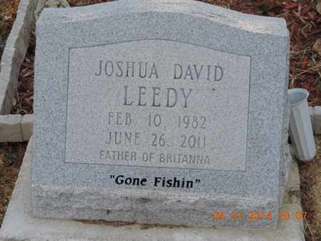 LEEDY, JOSHUA - Pike County, Ohio | JOSHUA LEEDY - Ohio Gravestone Photos