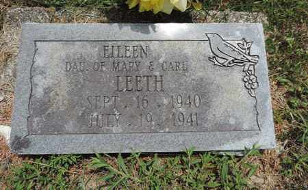 LEETH, EILEEN - Pike County, Ohio | EILEEN LEETH - Ohio Gravestone Photos