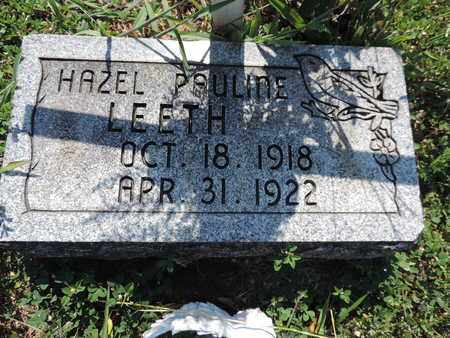 LEETH, HAZEL PAULINE - Pike County, Ohio | HAZEL PAULINE LEETH - Ohio Gravestone Photos