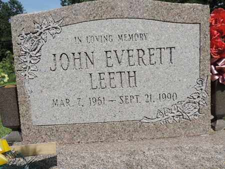 LEETH, JOHN - Pike County, Ohio | JOHN LEETH - Ohio Gravestone Photos