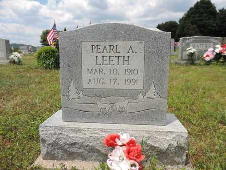 LEETH, PEARL A. - Pike County, Ohio | PEARL A. LEETH - Ohio Gravestone Photos
