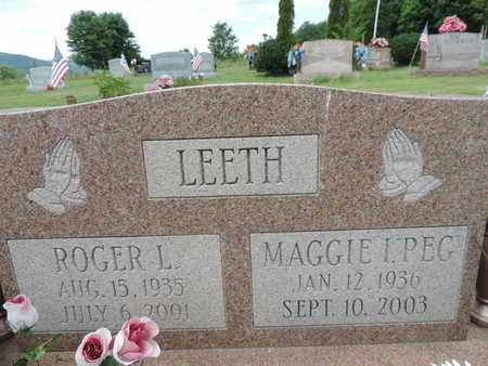 LEETH, ROGER L. - Pike County, Ohio | ROGER L. LEETH - Ohio Gravestone Photos