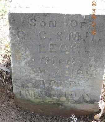 LEGG, A - Pike County, Ohio   A LEGG - Ohio Gravestone Photos
