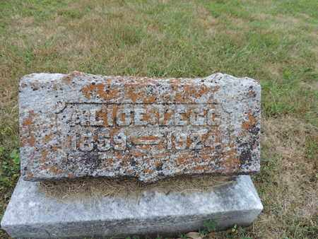 LEGG, ALICE - Pike County, Ohio | ALICE LEGG - Ohio Gravestone Photos