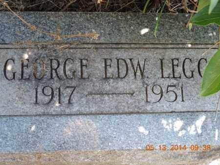 LEGG, GEORGE - Pike County, Ohio | GEORGE LEGG - Ohio Gravestone Photos