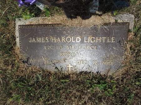 LIGHTLE, JAMES HAROLD - Pike County, Ohio | JAMES HAROLD LIGHTLE - Ohio Gravestone Photos