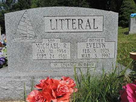 LITTERAL, MICHAEL R. - Pike County, Ohio | MICHAEL R. LITTERAL - Ohio Gravestone Photos