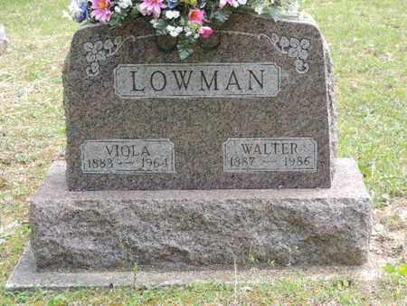 LOWMAN, VIOLA - Pike County, Ohio | VIOLA LOWMAN - Ohio Gravestone Photos