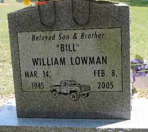 LOWMAN, WILLIAM - Pike County, Ohio | WILLIAM LOWMAN - Ohio Gravestone Photos