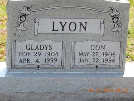 LYON, GLADYS - Pike County, Ohio | GLADYS LYON - Ohio Gravestone Photos