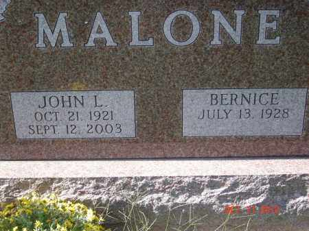 MALONE, JOHN LEE - Pike County, Ohio | JOHN LEE MALONE - Ohio Gravestone Photos