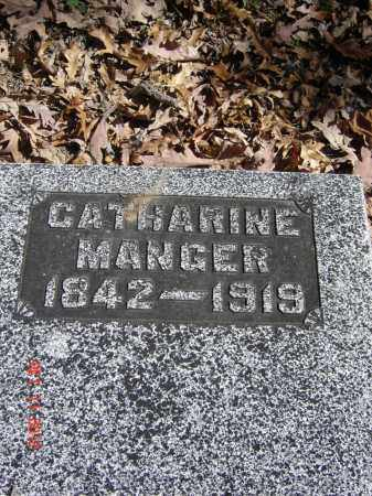 MANGER, CATHARINE - Pike County, Ohio | CATHARINE MANGER - Ohio Gravestone Photos