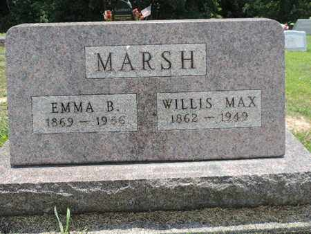 MARSH, EMMA B. - Pike County, Ohio | EMMA B. MARSH - Ohio Gravestone Photos