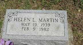 MARTIN, HELEN L. - Pike County, Ohio | HELEN L. MARTIN - Ohio Gravestone Photos