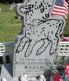 MASON, RACHEL - Pike County, Ohio | RACHEL MASON - Ohio Gravestone Photos