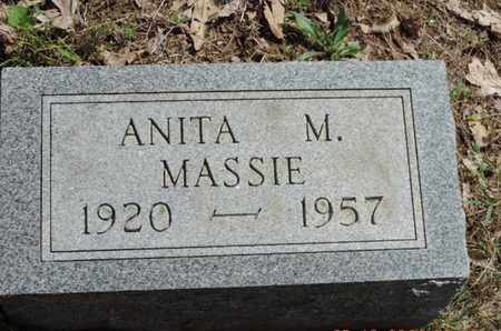 MASSIE, ANITA M. - Pike County, Ohio | ANITA M. MASSIE - Ohio Gravestone Photos