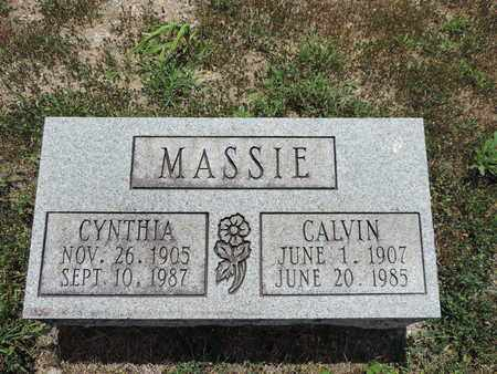 MASSIE, CALVIN - Pike County, Ohio | CALVIN MASSIE - Ohio Gravestone Photos