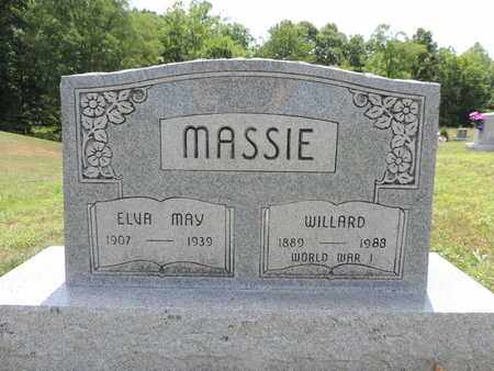 MASSIE, ELVA MAY - Pike County, Ohio | ELVA MAY MASSIE - Ohio Gravestone Photos