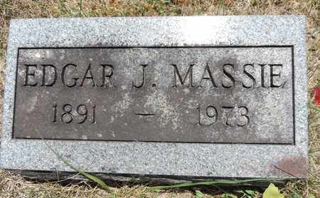 MASSIE, EDGAR J. - Pike County, Ohio | EDGAR J. MASSIE - Ohio Gravestone Photos