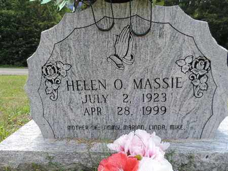 MASSIE, HELEN O. - Pike County, Ohio | HELEN O. MASSIE - Ohio Gravestone Photos