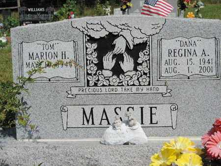 MASSIE, REGINA A. - Pike County, Ohio | REGINA A. MASSIE - Ohio Gravestone Photos
