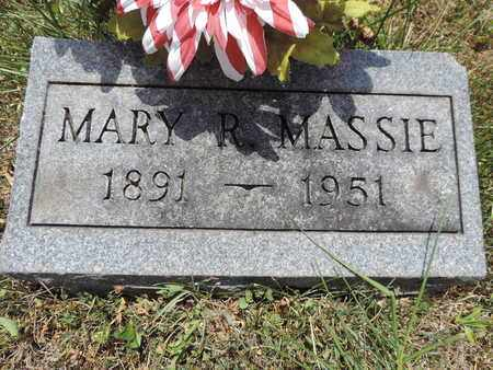 MASSIE, MARY R. - Pike County, Ohio | MARY R. MASSIE - Ohio Gravestone Photos