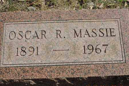 MASSIE, OSCAR R. - Pike County, Ohio | OSCAR R. MASSIE - Ohio Gravestone Photos