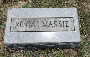 MASSIE, RODA - Pike County, Ohio | RODA MASSIE - Ohio Gravestone Photos