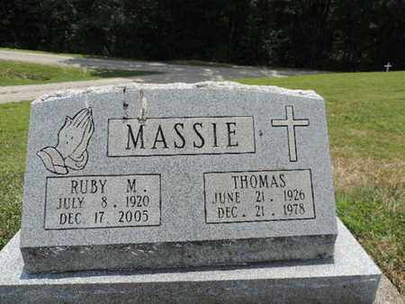 MASSIE, THOMAS - Pike County, Ohio | THOMAS MASSIE - Ohio Gravestone Photos