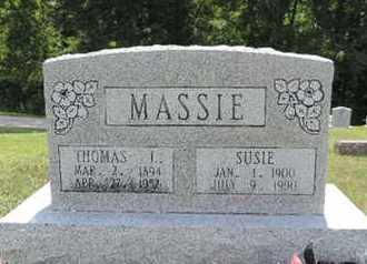 MASSIE, THOMAS I - Pike County, Ohio | THOMAS I MASSIE - Ohio Gravestone Photos
