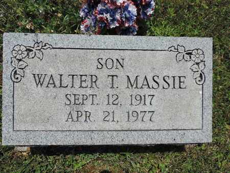 MASSIE, WALTER T. - Pike County, Ohio | WALTER T. MASSIE - Ohio Gravestone Photos