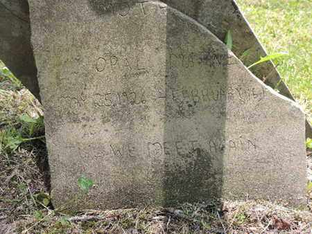 MATNE--, OPAL - Pike County, Ohio | OPAL MATNE-- - Ohio Gravestone Photos