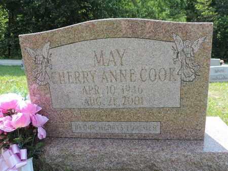 MAY, CHERRY ANNE - Pike County, Ohio | CHERRY ANNE MAY - Ohio Gravestone Photos