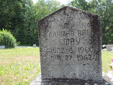 MAY, CARMAN RAE - Pike County, Ohio | CARMAN RAE MAY - Ohio Gravestone Photos